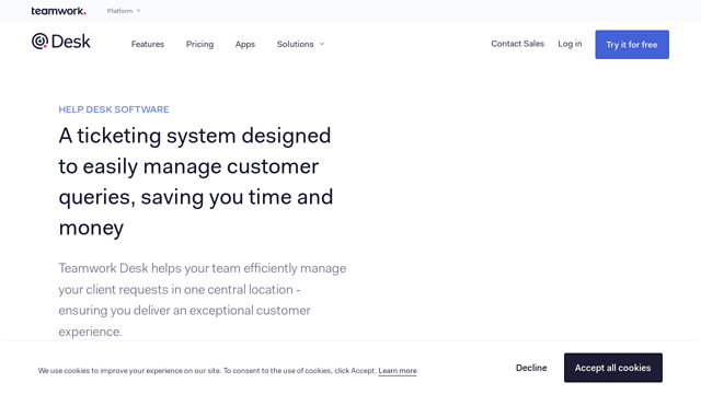 Teamwork-Desk API koppeling