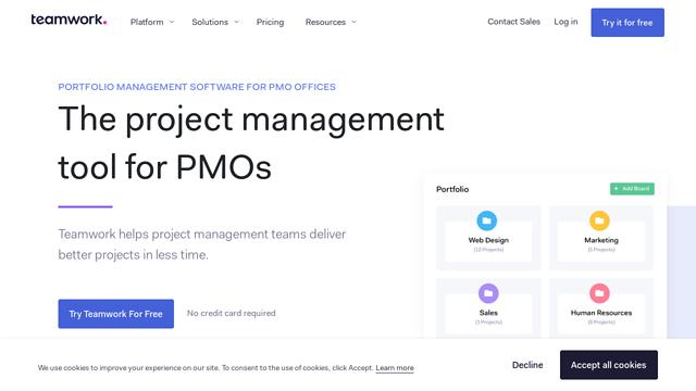 Teamwork-Projects API koppeling