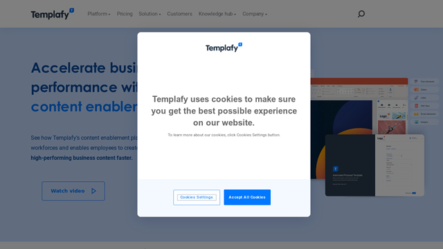 Templafy API koppeling