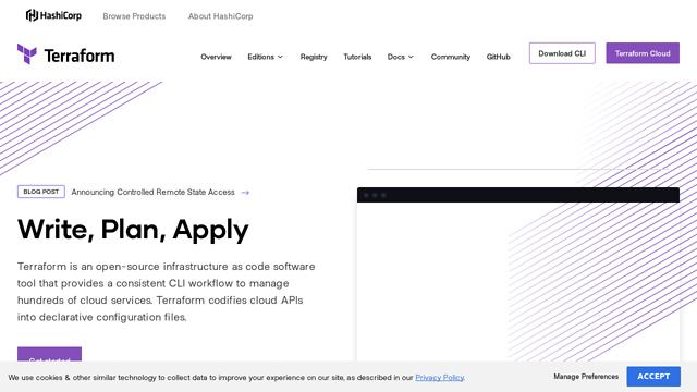 Terraform API koppeling