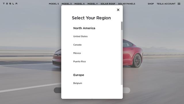Tesla API koppeling
