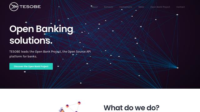 Tesobe API koppeling