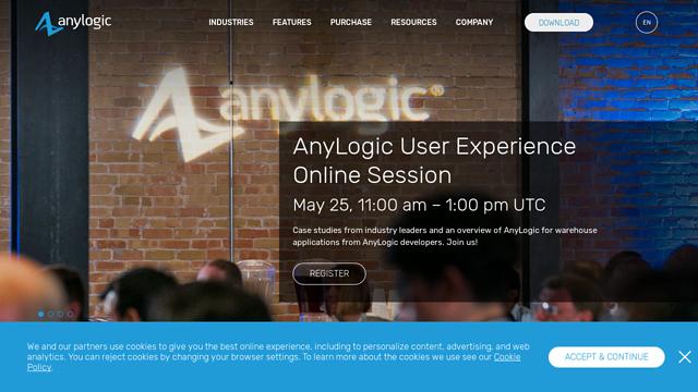 The-Anylogic-Company API koppeling
