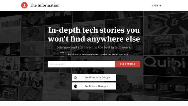 The-Information API koppeling