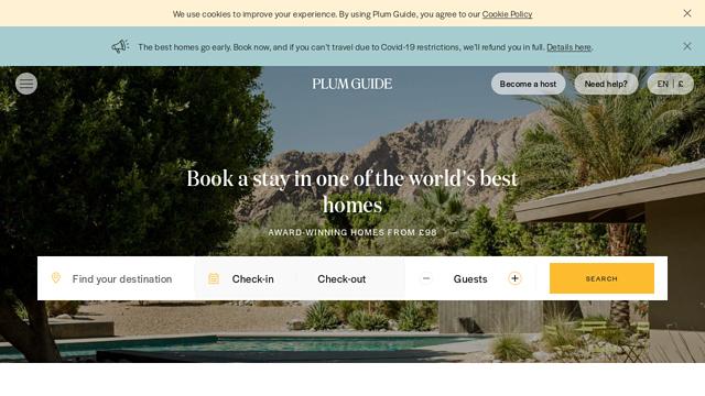 The-Plum-Guide API koppeling