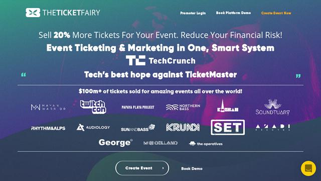 The-Ticket-Fairy API koppeling