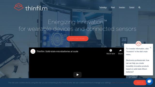 Thinfilm API koppeling
