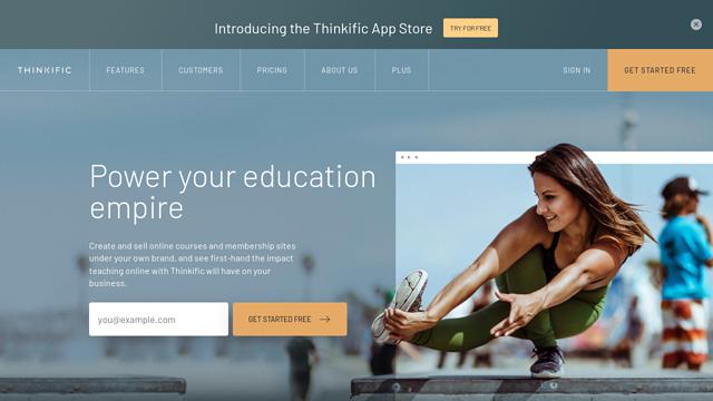 Thinkific API koppeling