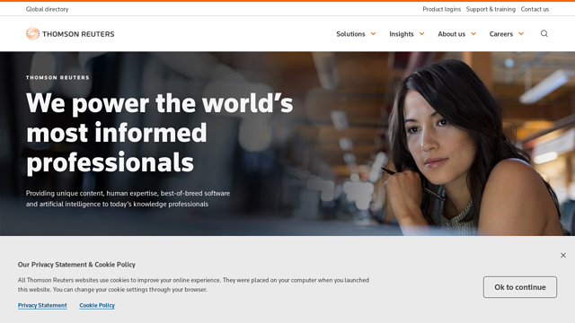 Thomson-Reuters API koppeling