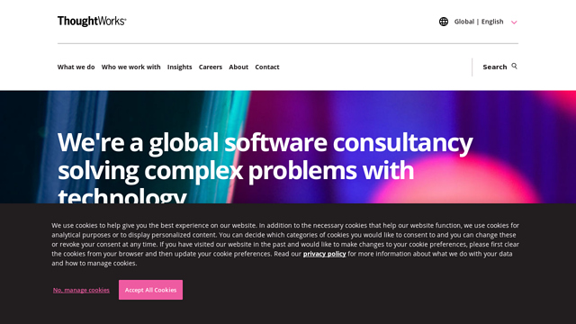 ThoughtWorks API koppeling