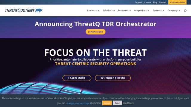 ThreatQuotient API koppeling