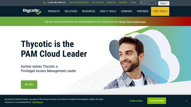 Thycotic API koppeling