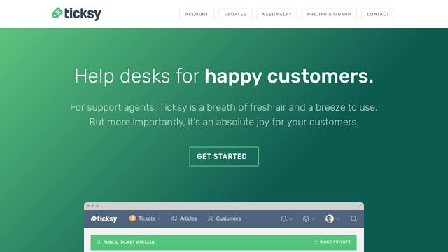 Ticksy API koppeling
