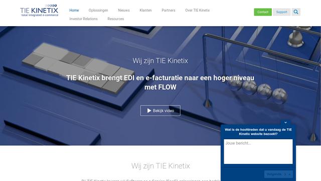 TIEKinetix API koppeling