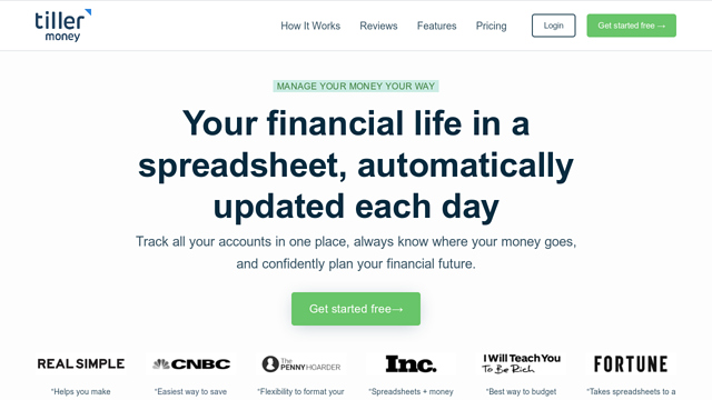 Tiller-Money API koppeling