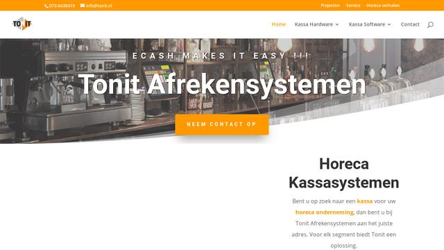 Tonit-Afrekensystemen API koppeling