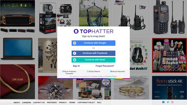 Tophatter API koppeling