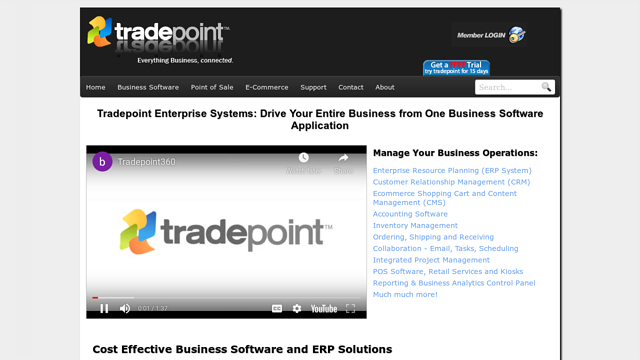 Tradepoint API koppeling