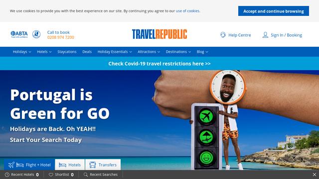 Travel-Republic API koppeling