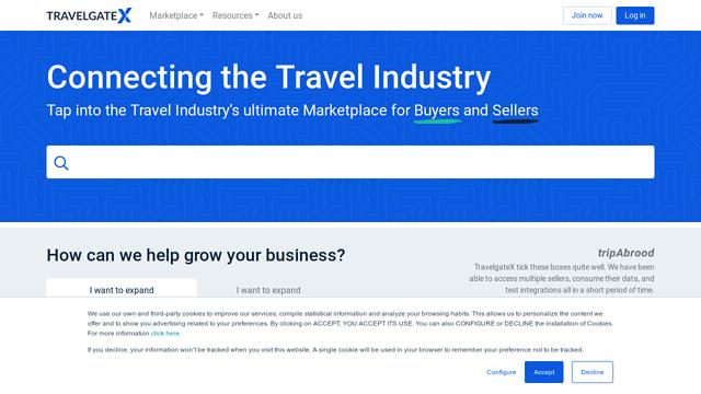 TravelgateX API koppeling
