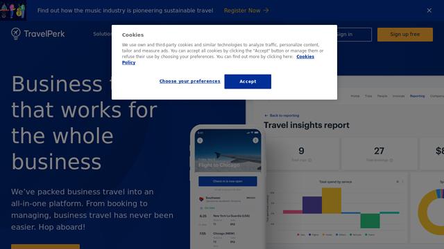 TravelPerk API koppeling