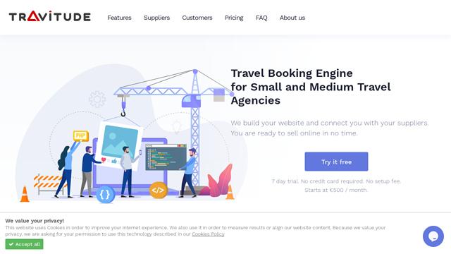Travitude API koppeling
