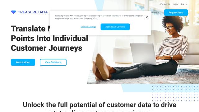 Treasure-Data API koppeling