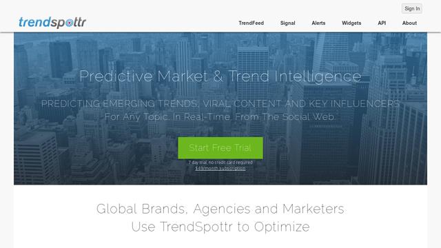 TrendSpottr API koppeling