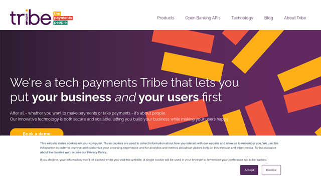 Tribe-Payments API koppeling