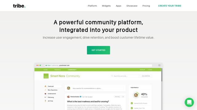 Tribe API koppeling