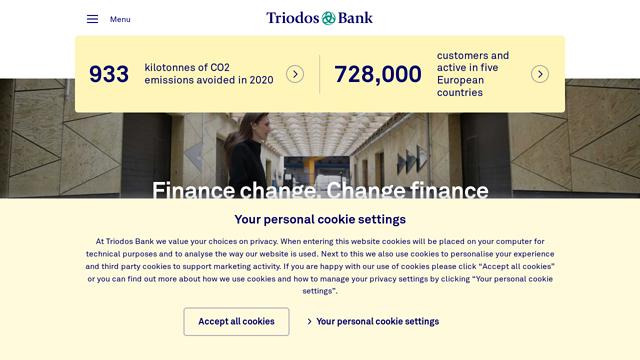 Triodos-Bank API koppeling