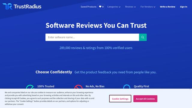 Trust-Radius API koppeling