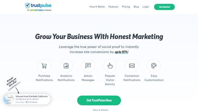 TrustPulse API koppeling