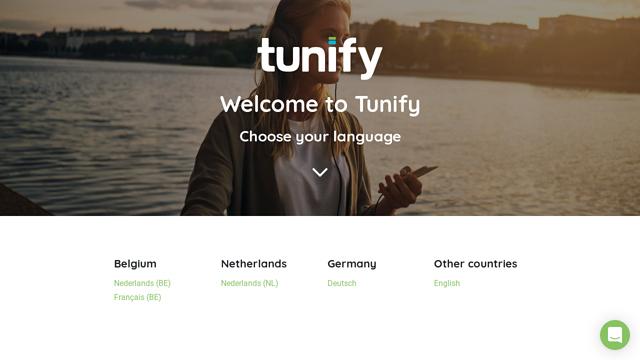 Tunify API koppeling
