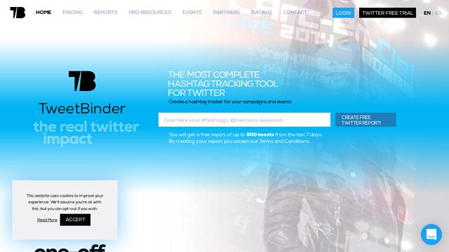 TweetBinder API koppeling