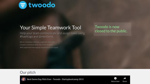 Twoodo API koppeling