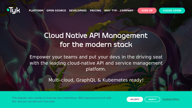 Tyk API koppeling