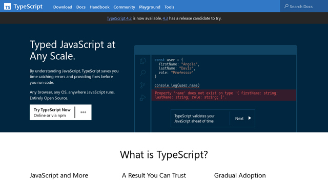 TypeScript API koppeling