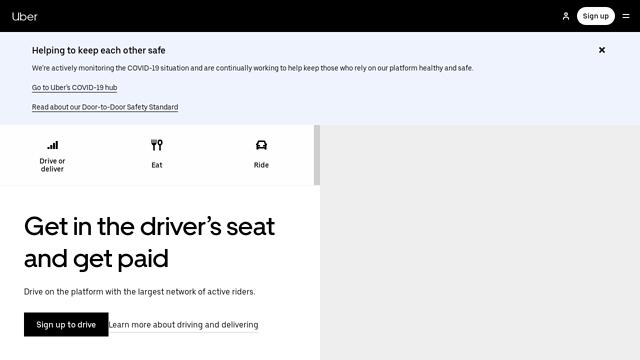 Uber API koppeling