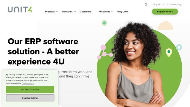 Unit4 API koppeling