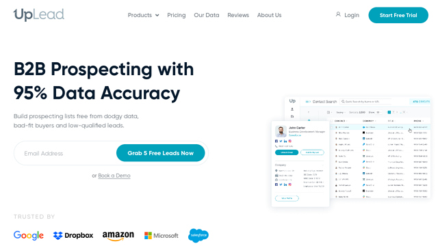 UpLead.com API koppeling