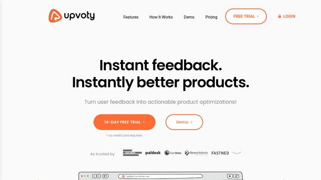 Upvoty API koppeling