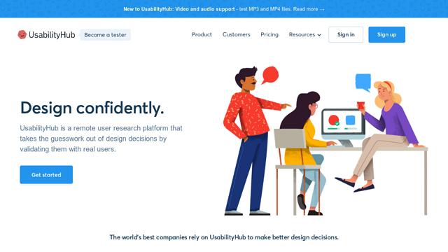 UsabilityHub API koppeling