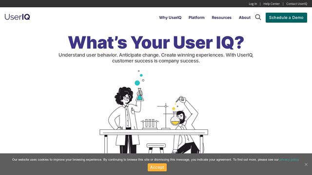 UserIQ API koppeling