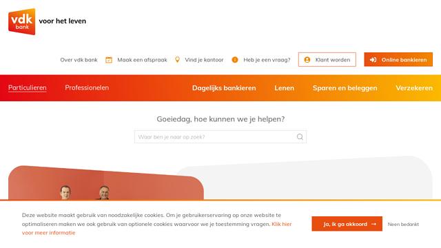 VDK-Bank API koppeling
