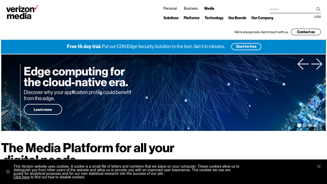 Verizon-Digital-Media-Services API koppeling