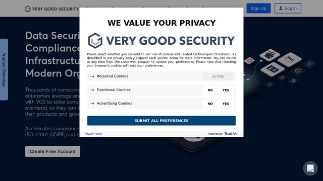 Very-Good-Security API koppeling