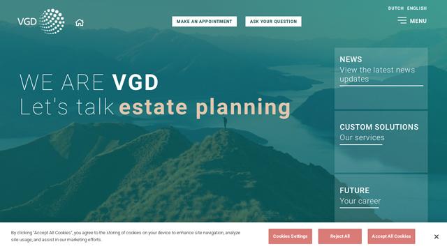 VGD API koppeling