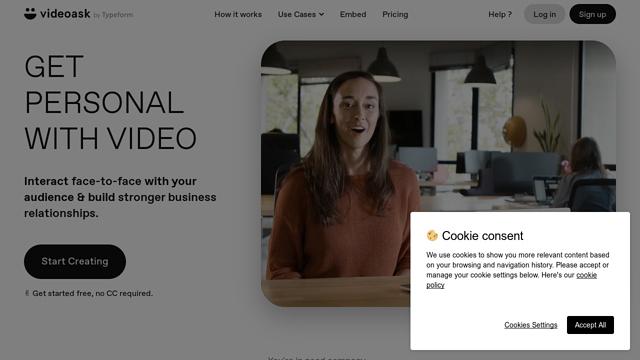 VideoAsk API koppeling