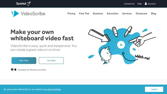 VideoScribe API koppeling